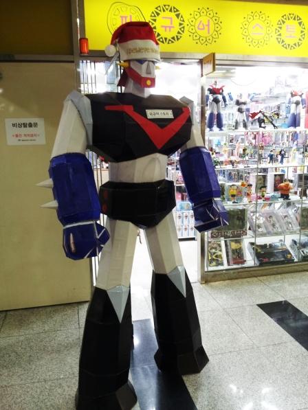 Transformer Santa in Korea