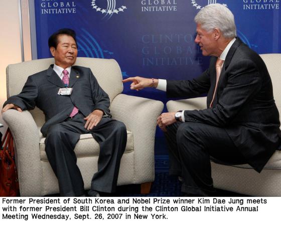 Bill Clinton Kim Dae-Jung