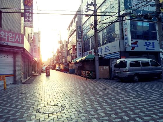 Korean empty market