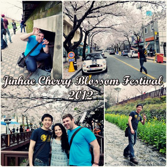 Jinhae Cherry Blossom Festival 2012