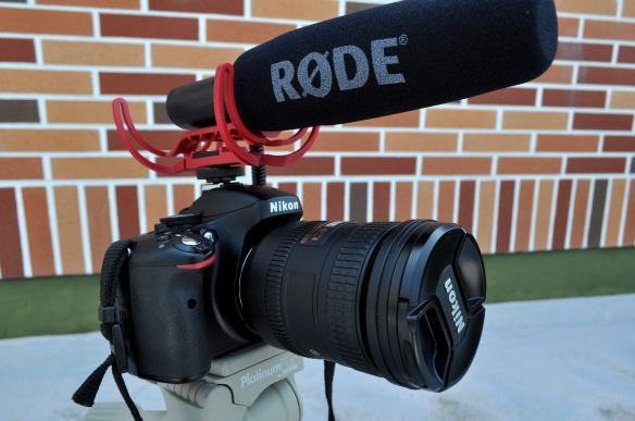 RODE VIdeoMic on Nikon 5100