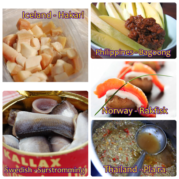 Fermented Fish from Various Countries