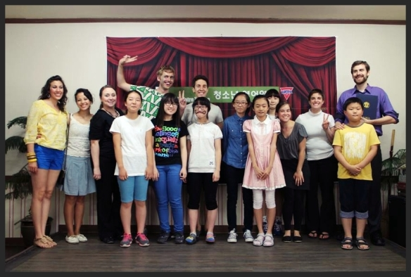 Daegu Theatre Troupe YMCA Youth Program