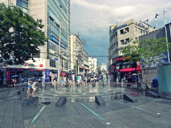 Downtown Daegu - Rain